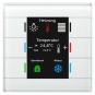 MDT BE-GT2TW.01 Glastaster II Smart mit 6 Sensorflächen Weiß