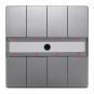 SIEMENS 5WG1287-2DB45 UP 287/45 Taster mit Status-LED und IR-Empfängerdekoder