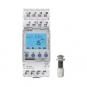 THEBEN 1110230 LUNA 111 top3 EL Digitaler Dämmerungsschalter mit Einbau-Lichtsensor