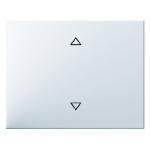BERKER 14057109 Wippe mit Aufdruck Symbol Pfeile Polarweiß glänzend