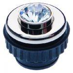 BERKER 19640001 Drucktaster Crystal chrom