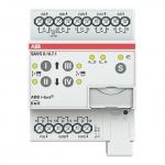 ABB SAH/S8.10.7.1 Schalt-/Jalousieaktor 10A REG 8-fach