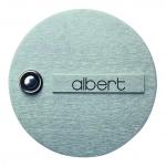 ALBERT 690945 Klingelplatte 1-fach 1-fach
