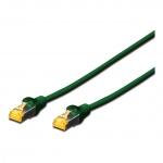 Twisted Pair Patchkabel DK-1644-A-0025/G CAT 6A S/FTP grün Länge: 0,25 m