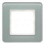 BERKER 10116079 Abdeckrahmen Glas Polarweiß 1-fach