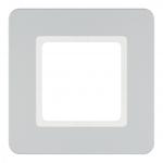 BERKER 10116184 Abdeckrahmen Alu samt 1-fach