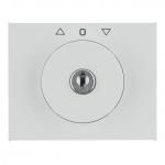 BERKER 1079730900 Zentralstück mit Schloss für Jalousie-Schlüsselschalter Polarweiß glänzend