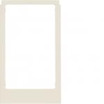 BERKER 13208982 Designrahmen eckig ELCOM.TOUCH Video Rahmen Weiß glänzend