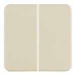 BERKER 1552 Wippen WG UP Weiß glänzend