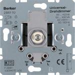 BERKER 286110 Universal-Drehdimmer 50-420W, mit Softrastung