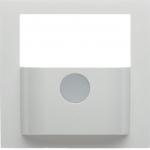 BERKER 80960459 Abdeckung für KNX- Bewegungsmelder-Modul S.1/B.3/B.7 polarweiß glänzend