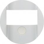 BERKER 80960460 Abdeckung für KNX- Bewegungsmelder-Modul R.1/R.3 polarweiß glänzend
