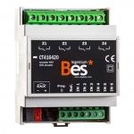 BESKNX CT416420 KNX Universalaktor 6 digitale Eingänge 4 digitale Ausgänge 16 A