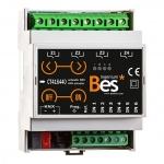 BESKNX CT416440 KNX Universalaktor 6 digitale Eingänge 4 digitale Ausgänge