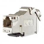 BUSCH-JAEGER 0219-101 Universalmodul RJ45 Cat. 6A iso geschirmt