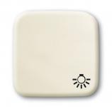 """BUSCH-JAEGER 2520 LI-212 Wippe mit Aufdruck Symbol """"Licht"""" weiß"""