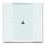 BUSCH-JAEGER 6125/02-84 Bedienelement 1/2-fach Multifunktion/Farbkonzept Studioweiß