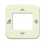 BUSCH-JAEGER 6109/03-212 Abdeckung für Raumtemperaturregler weiß