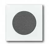 BUSCH-JAEGER 8253-84 Abdeckung für Lautsprecher-Einsatz 8223 U Studioweiß