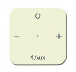 BUSCH-JAEGER 8255-212 Abdeckung für Busch-Bluetooth Receiver 8219 U weiß