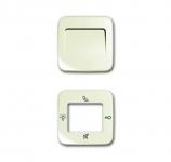 BUSCH-JAEGER 83260-212 Zentralscheiben für Innenstation Audio mit Display weiß