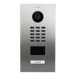 DOORBIRD D2101V IP Video Türstation Edelstahl gebürstet UP-Montage 1 Ruftaste