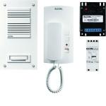 ELCOM 1000514 Audio Set ASU-1WS UP/AP 1+n weiß STABILA/HAT-40 1-Teilnehmer