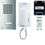 ELCOM 1000718 Audio Set ASZ-1EM UP/AP 1+n ESTA/HAT-402 1 Teilnehmer