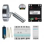 ELCOM 1001531 Video Kit VKG-500/CCS mit Stabkamera und Türlautsprecher