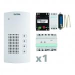 ELCOM 1001801 Audio Kit AKF-01 i2 Audio weiß BFT-200 1-Teilnehmer