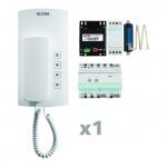 ELCOM 1001901 Audio Kit AKB-01 i2 Audio weiß BHT-200 1-Teilnehmer