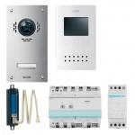 ELCOM 1067618 Video Set VEZ-1EM UP/AP 2D-Video ESTA/BVF-560 1 Teilnehmer