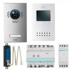 ELCOM 1068618 Video Set VEA-1EM AP 2D-Video ESTA/BVF-560 1 Teilnehmer