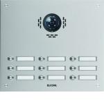 ELCOM 1109182BTC Türstation ESTA für Kamera-Türlautsprecher UP 9-fach, 3-reihig