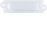 ELCOM 1504510 Namensschild mit weißen LED HB weiß AVZ-NHB