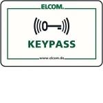 ELCOM 1506213 Transponder Card Weiß KPC-003 3-Stück