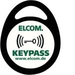 ELCOM 1506223 Transponder KPA-003 Schlüsselanhänger Schwarz 3-Stück