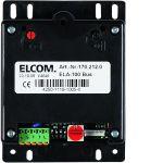 ELCOM 1702120 Türlautsprecher ELA-100 EB i2Audio schwarz