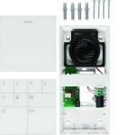 ELCOM 1715403 Audio Innenstation Komfort BFT-540WS AP 2D-Video Weiß glänzend