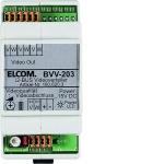 ELCOM1806203 Video-Verteiler BVV-203 3-fach REG 6d-Video lichtgrau 3-fach