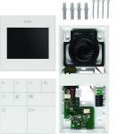 ELCOM 1832403 Innenstation Video Komfort AP 6D-Video BVF-240WS Weiß