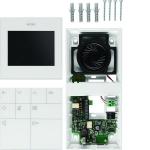 ELCOM 1835403 Video Innenstation Komfort BVF-540WS AP 2D-Video Weiß glänzend