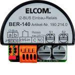ELCOM 1902140 Schaltrelais 1-fach mit Eingang UP i2Audio BER-140