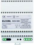 ELCOM 2314106 Videonetzgerät REG 6D-Video NGV-860 lichtgrau