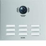 ELCOM 5109182BTC Türstation ESTA für Kamera-Türlautsprecher UP Edelstahl 9-fach, 3-reihig