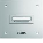 ELCOM 5601210 Klingelplatte STABILA UP Alu 1-fach, 1-reihig
