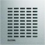 ELCOM 5813010 IP Audio Modul halbduplex LBM-300 EB Edelstahl matt MODESTA