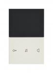 ELCOM REA662Y Video Innenstation TOUCH Komfort AP 2Draht Weiß glänzend