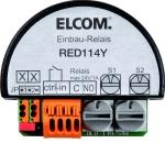 ELCOM RED114Y Schaltrelais 1-fach mit Einganng UP 2Draht schwarz