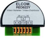 ELCOM RED622Y Video Verteiler 2Draht UP lichtgrau IP20 Videoverteiler 2-fach